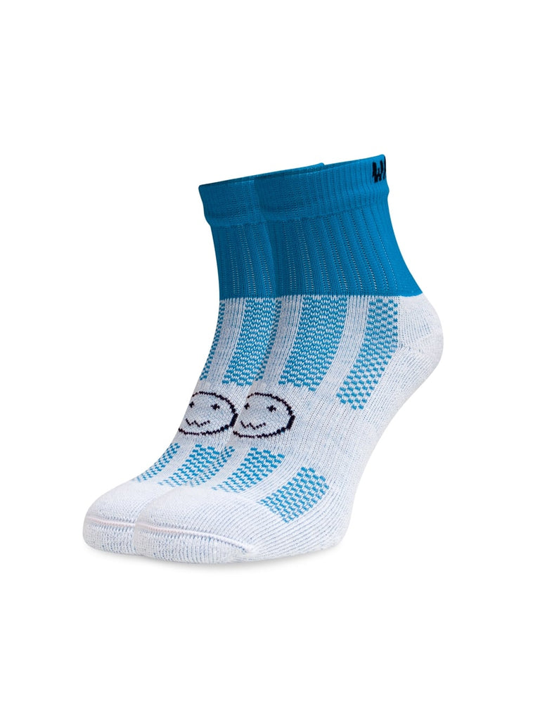 WACKY SOX ANKLE TURQUOISE