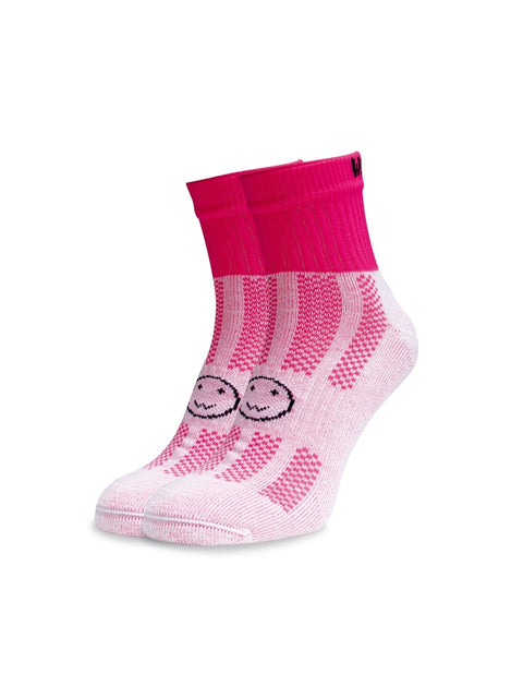 WACKY SOX ANKLE RASPBERRY