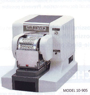 Automatic Dating & Numbering Perforator (10-905/10-905L)