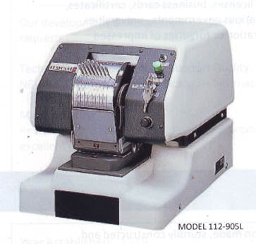 Automatic Dating & Numbering Perforator (112-905/112-905L)