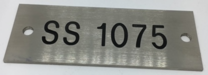 Stainless Steel Engraved Plates