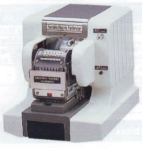 Automatic Consecutive Numbering Perforator (10N)