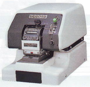 Automatic Consecutive Numbering Perforator (194-911)