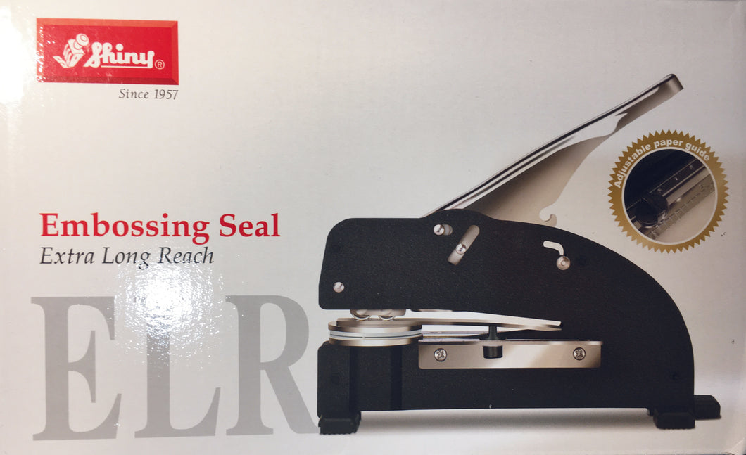 Shiny ELR Large Embossing Seal Press