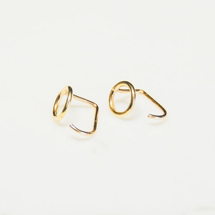 Corona Earrings - Micro Threader