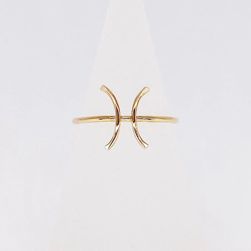 Pisces Ring | 14kt Gold Filled Ring