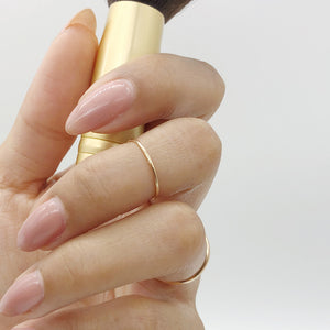 Simple Midi Ring | 14kt Gold Filled Stackable 1mm Knuckle Ring