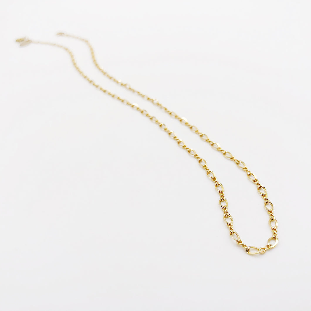 Cadena | 14kt Gold Filled Figure 8 Collar Necklace