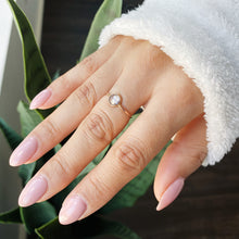 Le Bouton Ring | 14kt Gold Filled 6mm CZ Ring