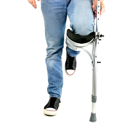 Adjustable Ambidextrous Crutch Knee Rest