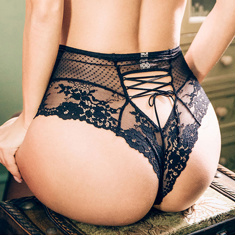 MIA LACE NAUGHTY KNICKER