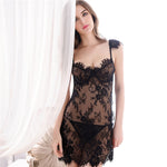 Seductive comfort with lace Chemise