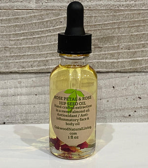 Rose Petal and Hip Seed Oil
