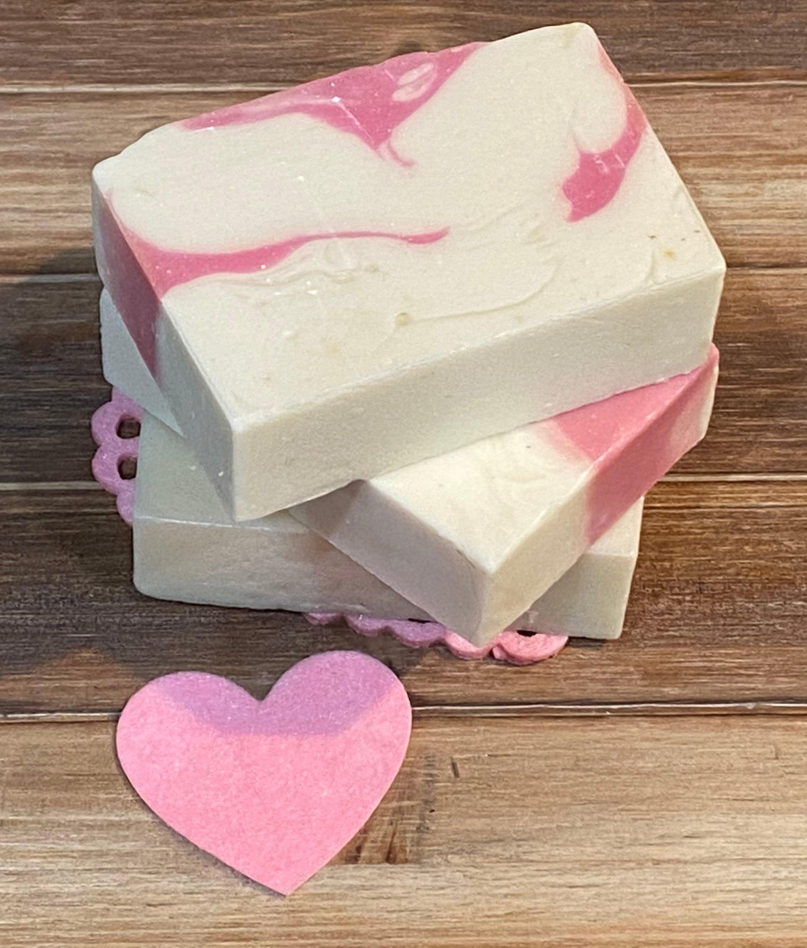 Bar Soap - Valentine Pink Peppermint