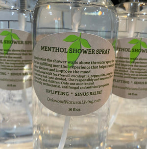 Menthol Shower Spray