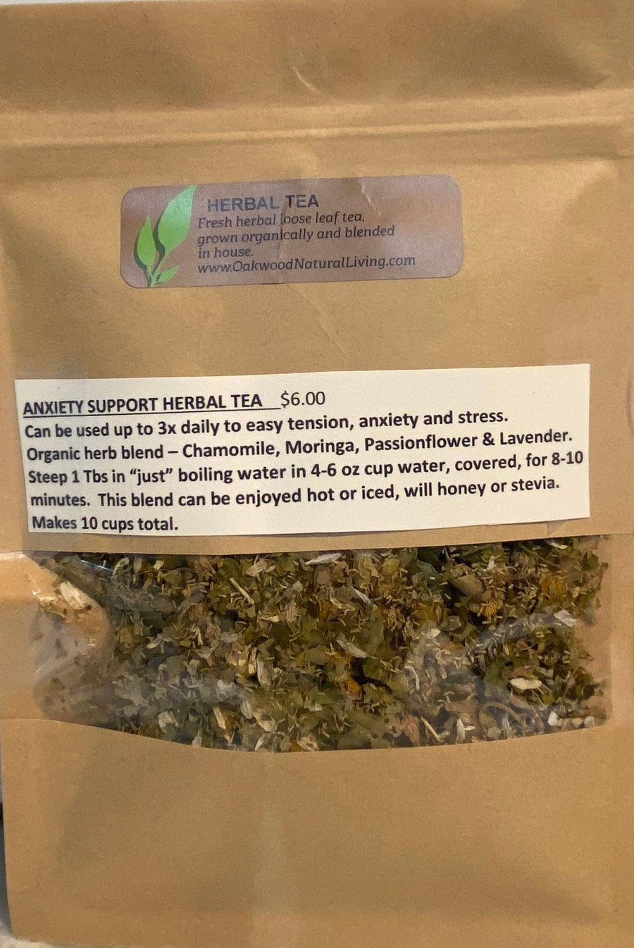 Anxiety Support Herbal Tea