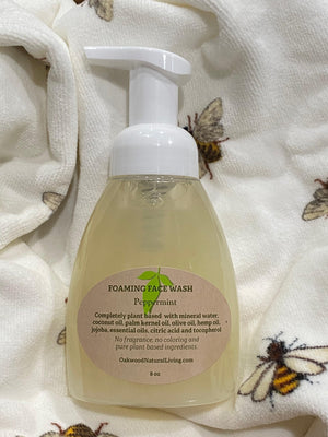 Foaming Face Wash - Plant based