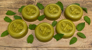 Mint Lime Solid Lotion Bar