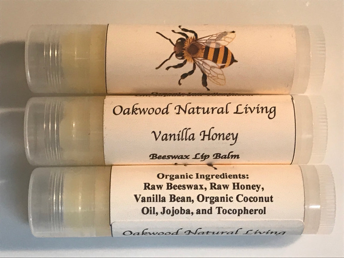 Lip Balm -  Vanilla Honey