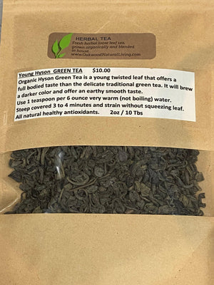 Herbal Tea - Young Hyson Green Tea