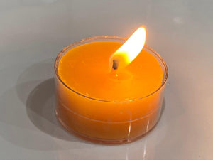 Raw Beeswax Tealight Candle