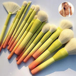 'Flaming Hot' Brush Set