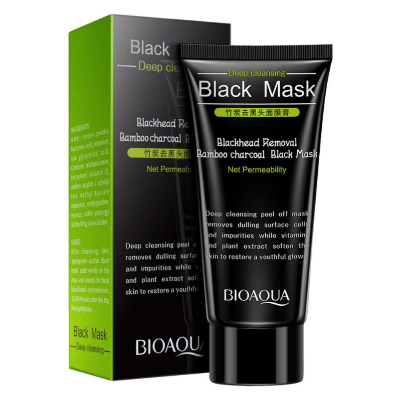 Bamboo Charcoal Blackhead Face Mask