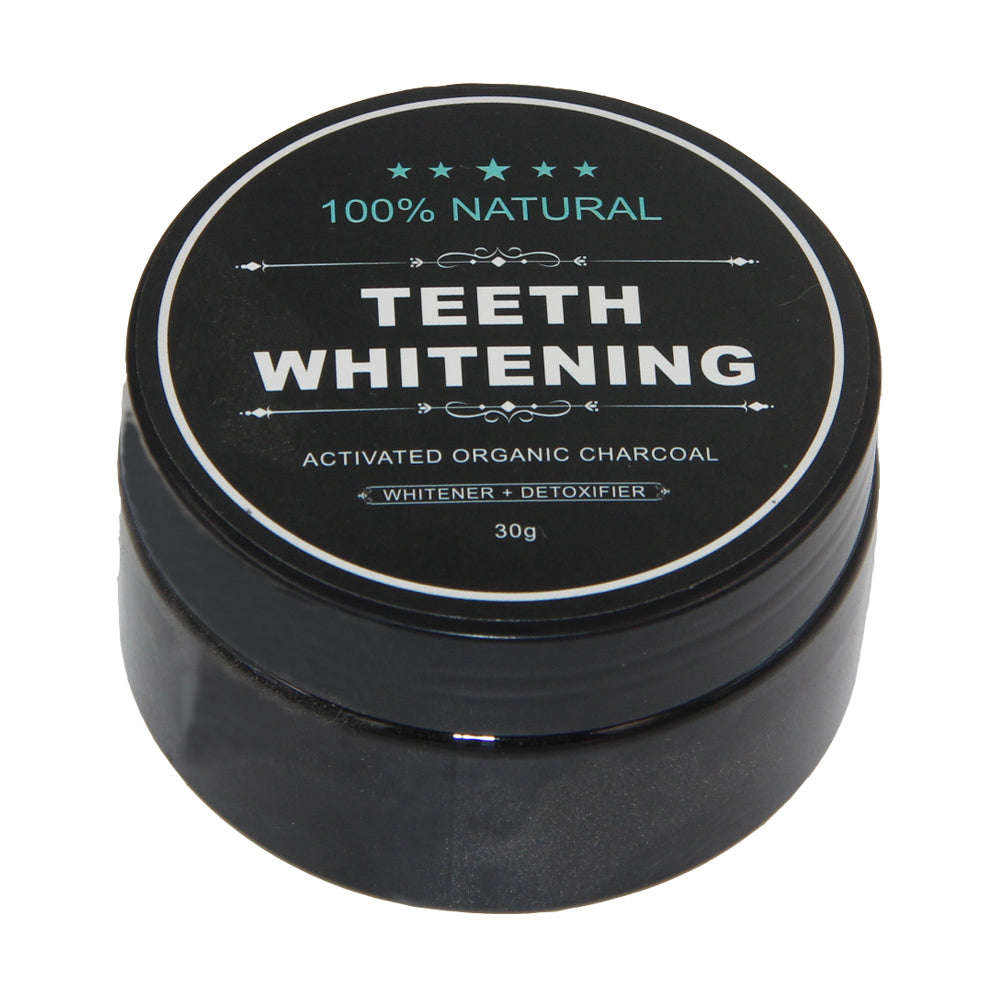 Charcoal Teeth Whitening Powder - Brighter Whiter