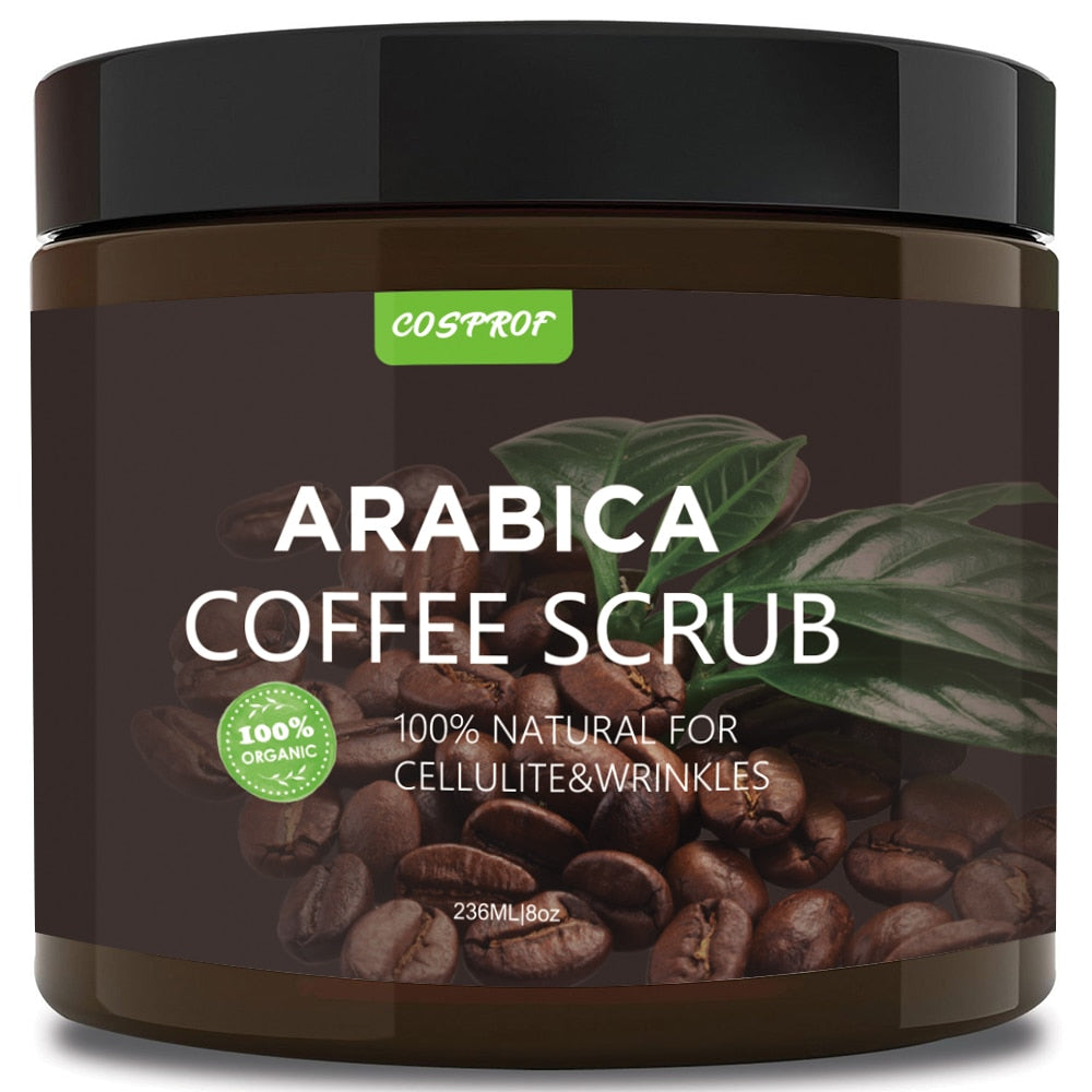Natural Coffee Body Scrub - Clarcias