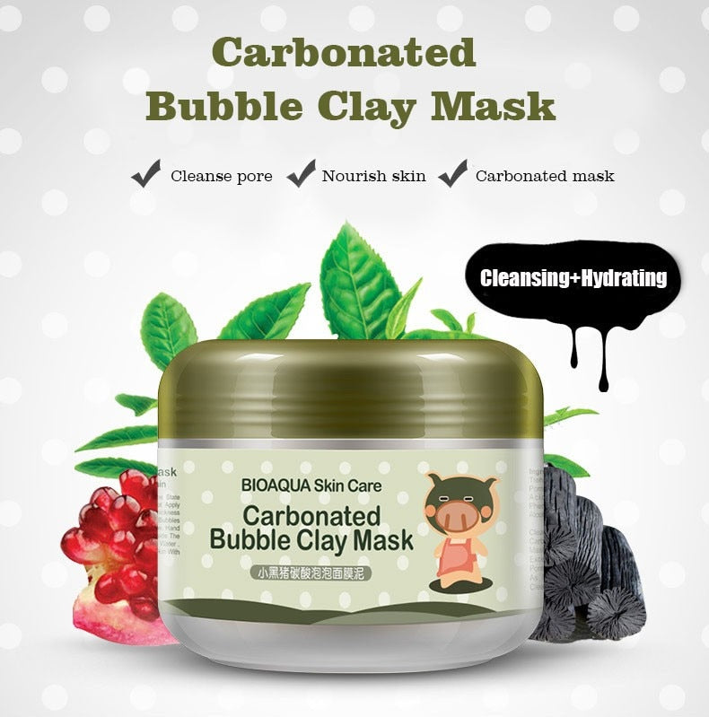 Bubbling Fizzing Clay Mask - Clarcias