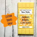 Custom Wax Melts - You Choose Your Blend
