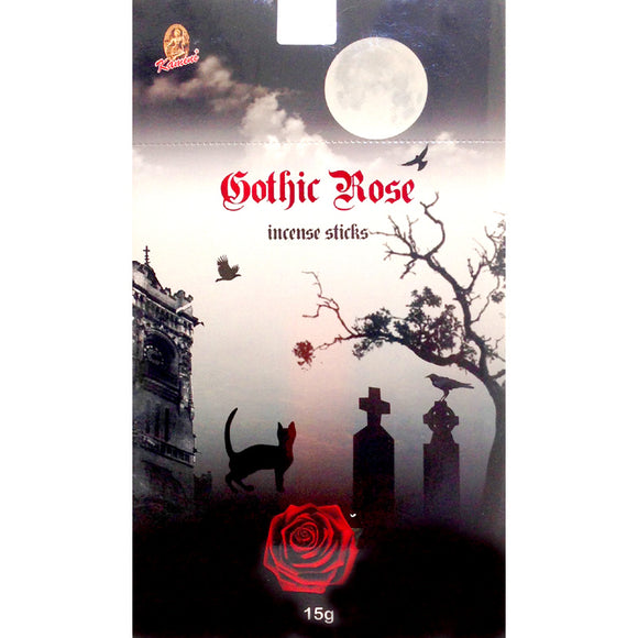 Kamini Incense - Gothic Rose - flat packet 15g