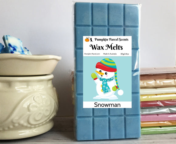 Snowman Wax Melts