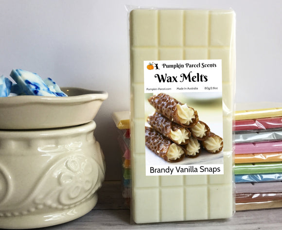 Brandy Vanilla Snaps Wax Melts