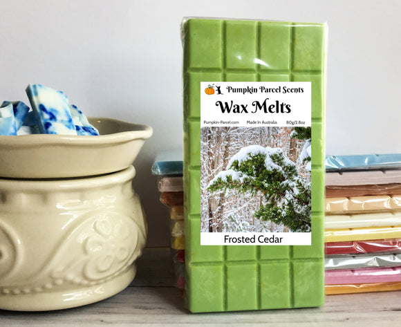 Frosted Cedar Wax Melts