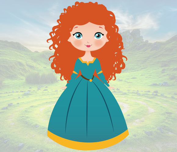 Princess Merida Wax Melts