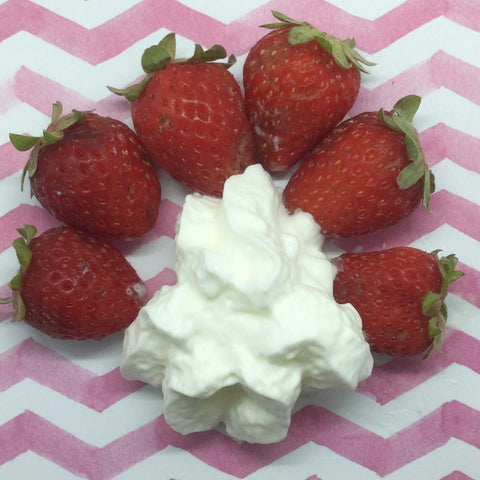 Strawberries & Cream Wax Melts