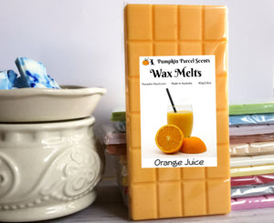 Orange Juice Wax Melts