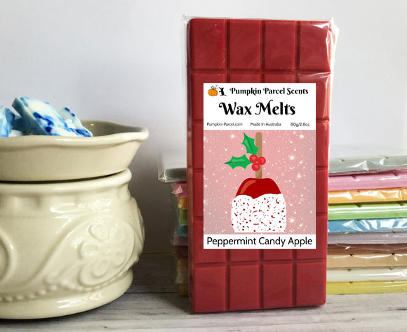Peppermint Candy Apple Wax Melts
