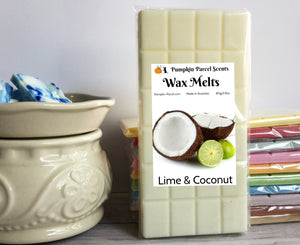 Lime & Coconut Wax Melts