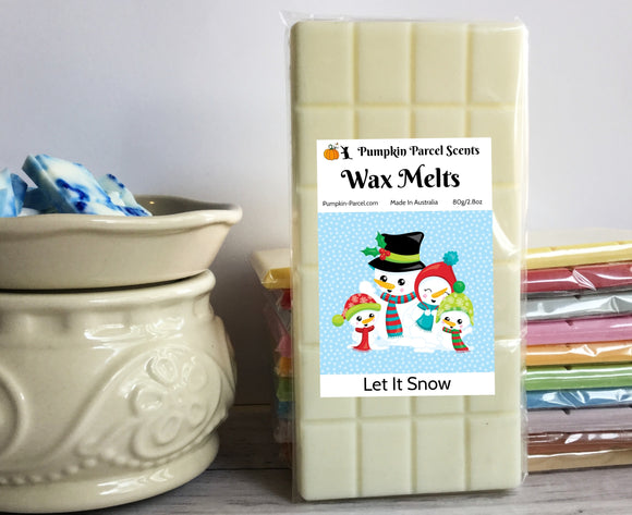 Let It Snow Wax Melts