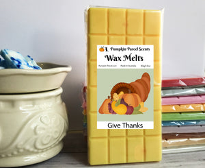 Give Thanks Wax Melts