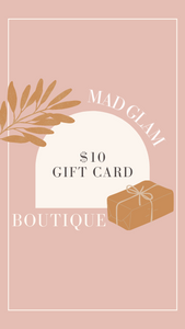$10 Mad Glam Gift Card