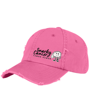 Snarky Distressed Baseball Hat