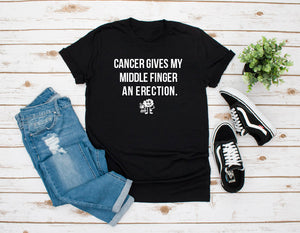 Cancer Gives My Middle Finger an Erection