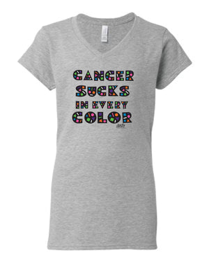 Cancer Sucks In All Colors~Click for Choices