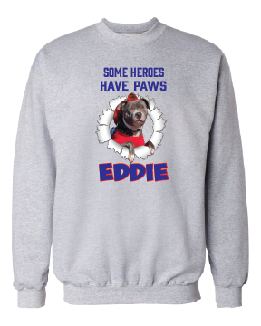 Some Heros Have Paws Eddie --Youth Options