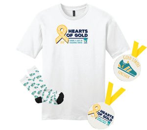 ASCF Hearts of Gold--Gold Stroll Finishers Package