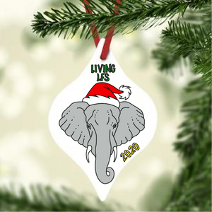 Living LFS 2020 Elephant Ornament