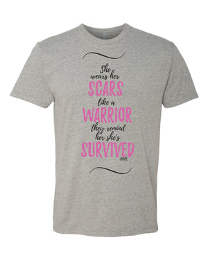 She Wears Her Scars Like a Warrior~Click for All Styles